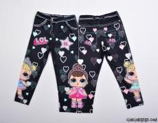 Sürpriz Pantolon Görünümlü Kız Çocuk Tayt