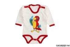 Papağan Uzun Kollu Bebek Badi