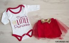 Mom's Little Prenses Uzun Kollu Badili Takım