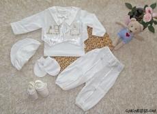 Yelekli Erkek Bebek Mevlütlük Set