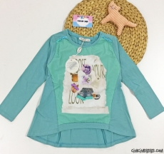 Penye Kız Çocuk Bluz