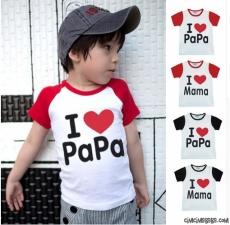 I Love Papa T-Shirt