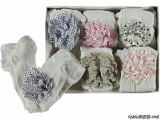 Poposu Çiçekli Külotlu Çorap
