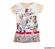 Havalı Kızlar Püsküllü Kız Çocuk Tunik