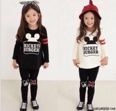 Mickeys Burgers Kız Çocuk Takım