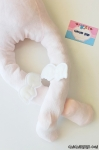 Melek Kanatlı Kız Bebek Külotlu Çorap