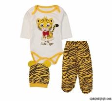 Cute Tiger Badili 3'lü Bebek Takım