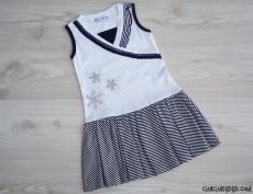 Yaldızlı Güpürlü Elbise