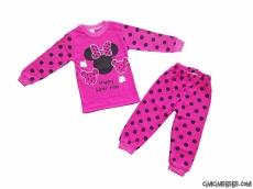 Minik Fare Kız Çocuk Pijama Takımı