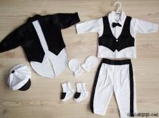 Saten Ceketli Erkek Bebek Mevlütlük Set