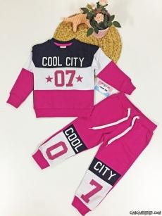 Cool City Kız Çocuk Eşofman Takımı