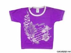 Çiçek Baskılı T-Shirt