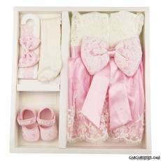 Fransız Dantelli Kız Bebek Mevlütlük