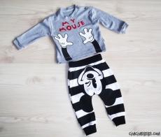 Minik Fare Erkek Bebek Takım