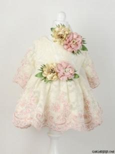 Fransız Dantelli Özel Tasarım Mevlütlük Elbise