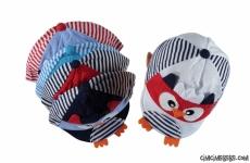 Sevimli Figürlü Bebek Şapka