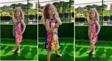 Pullu Çantalı Prenses Ebrar Elbisesi