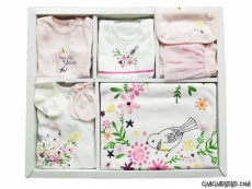 Bahar Dalı 10'lu Bebek Zıbın Seti