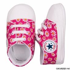 Papatyalı Kız Bebek Ayakkabı