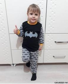 Yarasa Erkek Çocuk Pijama Takımı