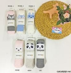Kız Bebek Külotlu Kalın Havlu Çorap