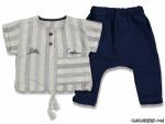 Ay Gömlekli Erkek Bebek Takım