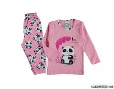 Minik Panda Pijama Takımı