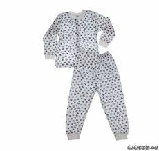 Erkek Bebek Yıldızlı Pijama Takımı