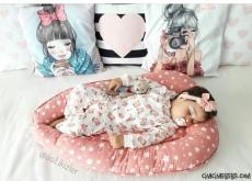 Güllü Kız Çocuk Pijama Takımı