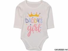 Dady's Girl Uzun Kollu Bebek Badi