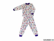 Arabalı Erkek Çocuk Pijama Takımı