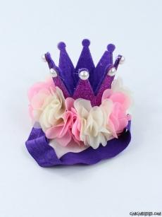 Kız Bebek Kraliçe Tacı Bandana