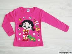 Çizgi Kahramanlı Kız Çocuk Sweatshirt