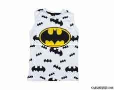 Süper Kahraman Askılı Erkek Çocuk T-Shirt